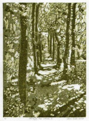 woods print