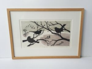 blackbirds print