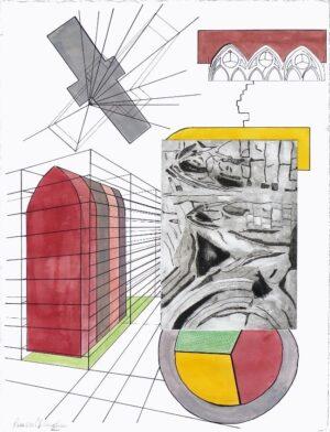 museum garden print