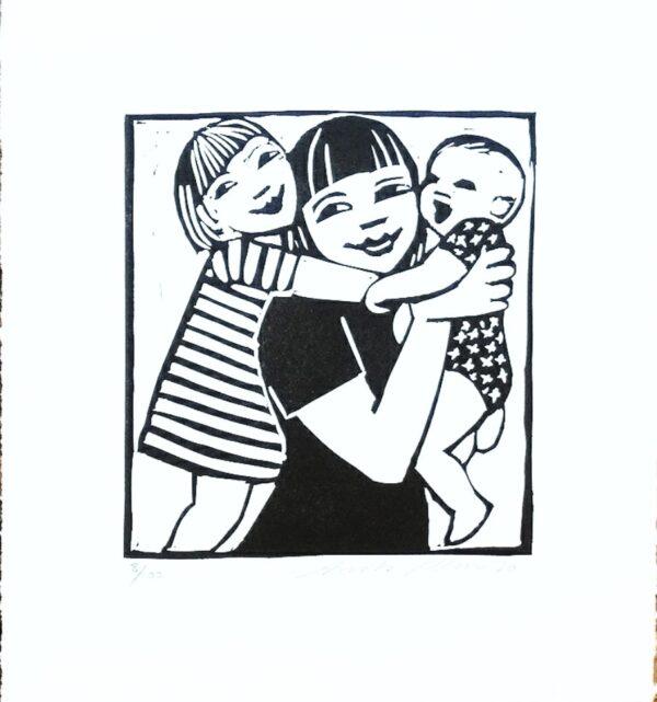 print mother