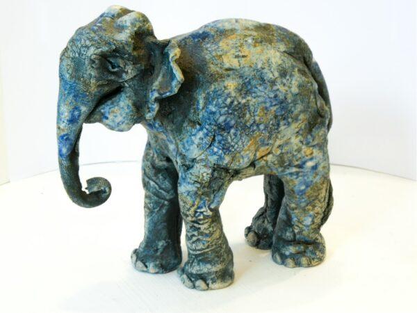 baby elephant sculpture
