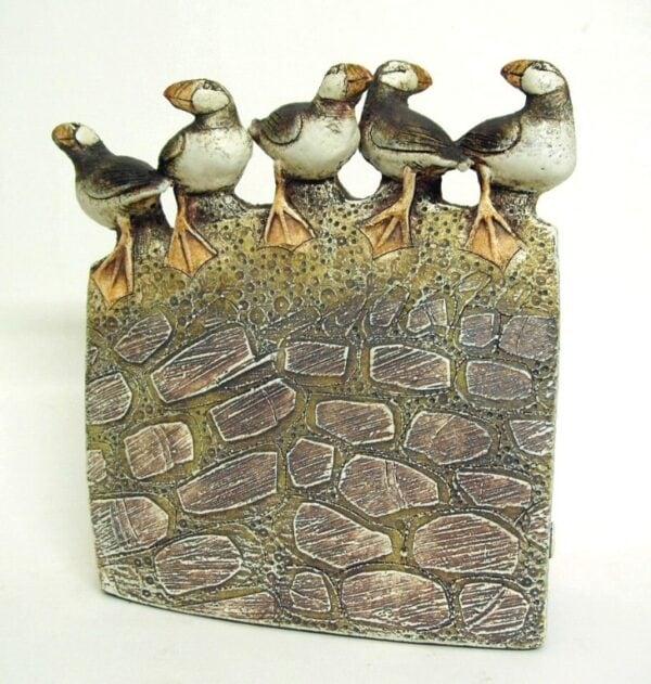 puffins sculpture