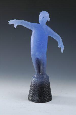 cast glass figure