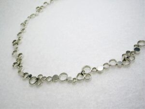 choker necklace silver
