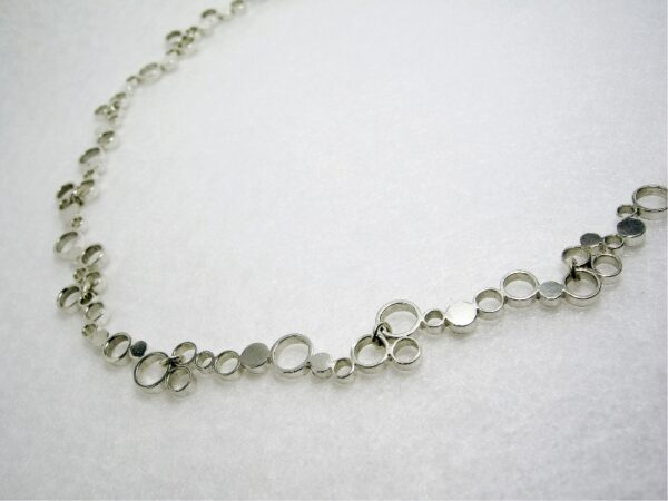 choker necklace silver