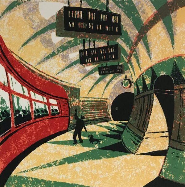 print underground station