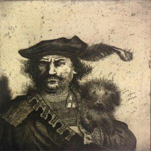 rembrandt dog