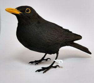 ceramic black bird