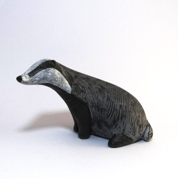 badger sculpture