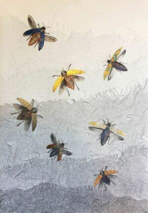 print beetles